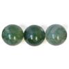 Semi-Precious 10mm Round Moss Agate